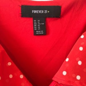 Forever 21 Dresses - Polka dot Baby Doll Style Dress
